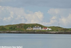 Cottages on Heir Island, West Cork