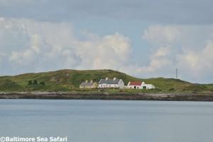 Cottages on Heir Island, West Cork