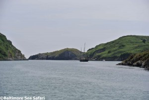 The peaceful anchorage of Barlogue Creek in West Cork