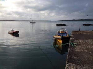 An early morning stillness in Roaringwater Bay, West Cork