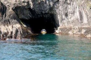Baltimore Sea Safari in a cave in West Cork