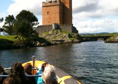 Boat trip to Kilcoe Castle