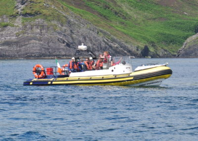 Coastal sightseeing boat trips in west Cork