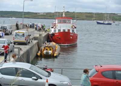 The Ferry Pier in Baltimore West Cork Ireland